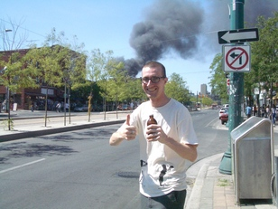 Ryan and the spadina fire